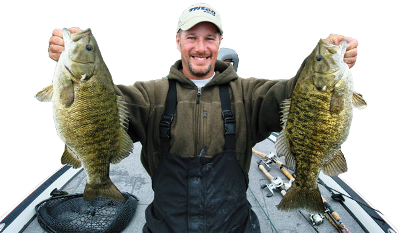 Gerry Gostenik - Great Lakes Bass Fishing Guide Service