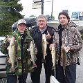 Great Lakes Bass Fishing Guide Service offers spring time walleye jigging charters on the Detroit River, Michigan.