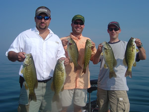 Seasonal Patterns for Smallmouth Bass Fishing on Lake St  Clair